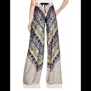 Alice + Olivia Elinor Paisley High Waist Pants NWT